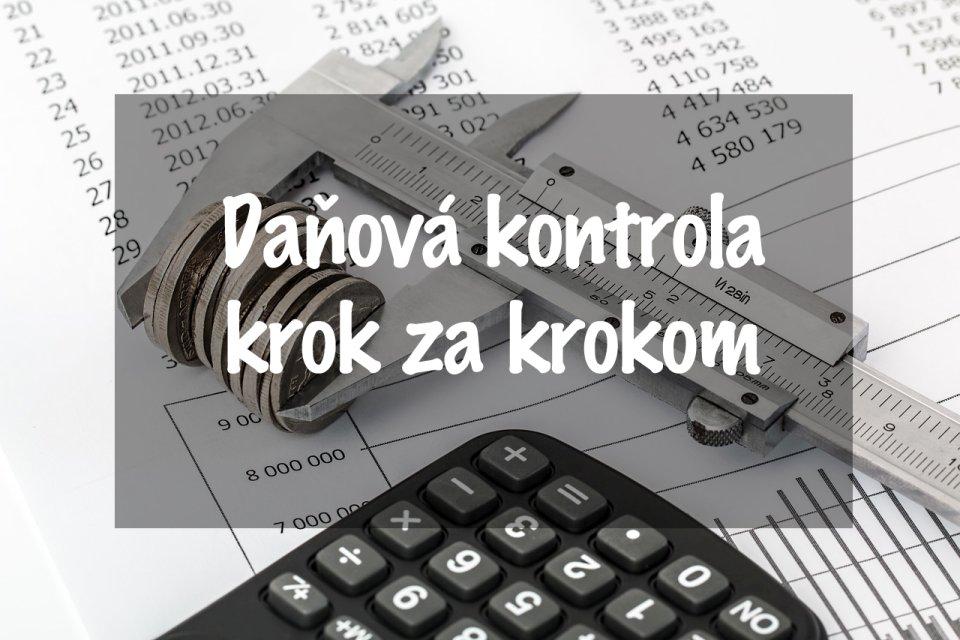 a165235bf Daňová kontrola mnohým podnikateľom naháňa strach. Čo je cieľom kontrolórov  a ako sa na daňovú kontrolu pripraviť? Poradíme vám v článku.