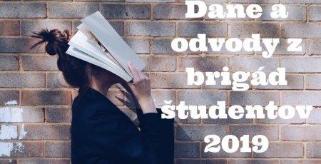 Študentské brigády 2019: Čo by ste mali vedieť